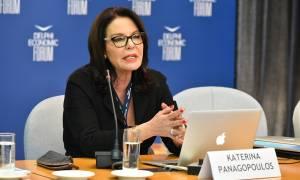 Η ομογένεια τιμά την Κατερίνα Παναγοπούλου