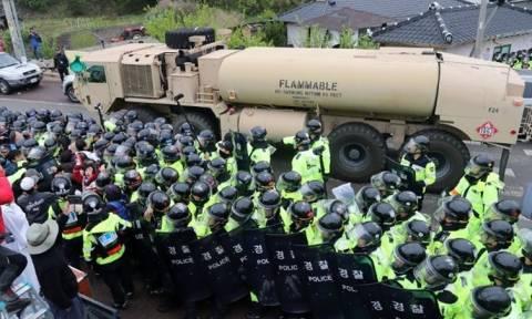 ΗΠΑ: 'Eτοιμο το αντιπυραυλικό σύστημα στη Ν. Κορέα - Κινεζική έκκληση για αυτοσυγκράτηση (vids)