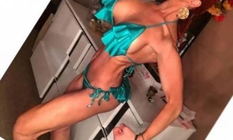 Σοκάρει η «μεταμόρφωση» Ελληνίδας τραγουδίστριας που θέλει να γίνει... bodybuilder!