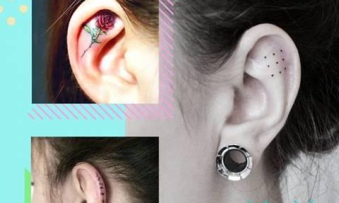 Helix Tattoos: Είναι αυτό το νέο trend που θα αντικαταστήσει τα σκουλαρίκια;