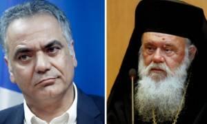 Ανοίκεια επίθεση Σκουρλέτη σε Ιερώνυμο: Ασεβής ο Αρχιεπίσκοπος!