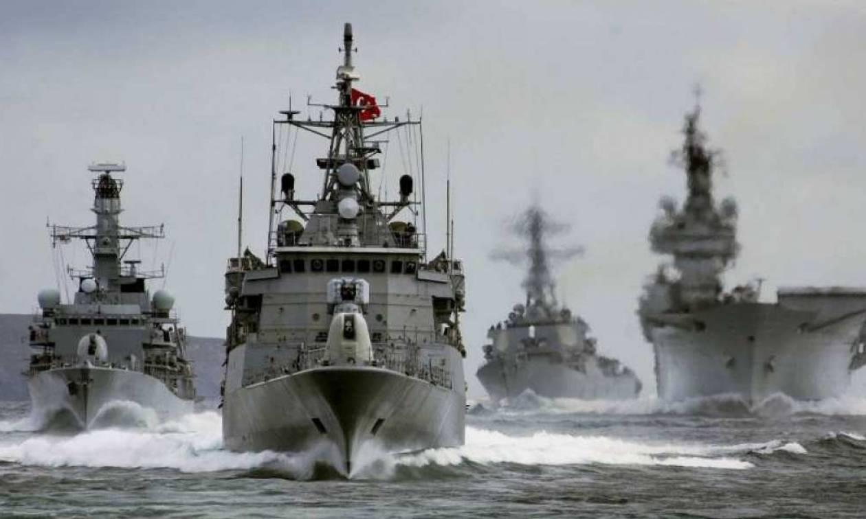Δραματικές εξελίξεις: Η Τουρκία δέσμευσε το μισό Αιγαίο – Τουρκικά πλοία από Σκύρο μέχρι Χίο