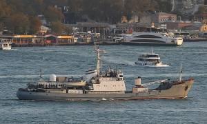 Σύγκρουση ρωσικού πλοίου με εμπορικό στη Μαύρη Θάλασσα