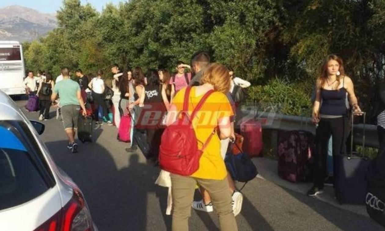 Σε ξενοδοχείο του Ρίου οι μαθητές που επέβαιναν σε λεωφορείο που τυλίχθηκε στις φλόγες