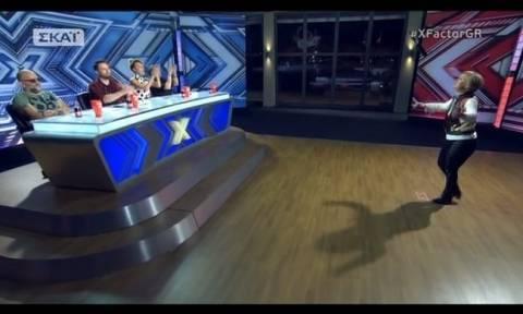 X-factor: Ο Μαζωνάκης έκανε φωνητικά στην διαγωνιζόμενη