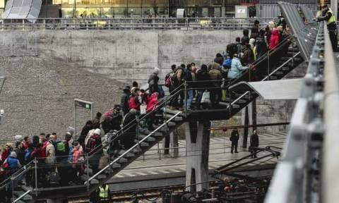 Полиция Лесбоса арестовала десятки мигрантов, незаконно поселившихся в одно из промышленных зданий