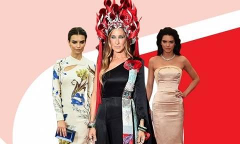 Met Gala: Όλες οι stars που έχουν επιλέξει δημιουργία από high street brands για τις εμφανίσεις τους