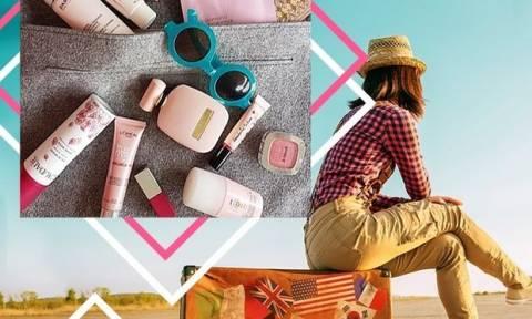 Θα φύγεις τριήμερο; Ετοιμάζουμε μαζί το beauty kit σου!
