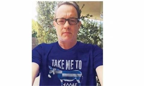«Καμπάνια» υπέρ της Ελλάδας από τον Τομ Χανκς