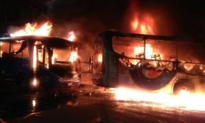 Βραζιλία: Πεδίο μάχης οι δρόμοι από τις διαδηλώσεις κατά της λιτότητας (pics+vids)