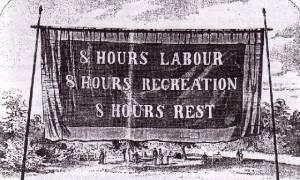Σαν σήμερα το 1889 καθιερώνεται ο εορτασμός της Εργατικής Πρωτομαγιάς