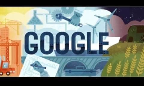 Πρωτομαγιά: Το doodle της Google για την ημέρα των εργατών
