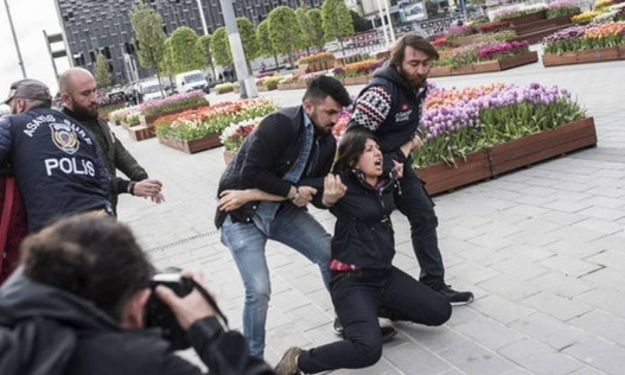 Πρωτομαγιά 2017 - Κωνσταντινούπολη: Συλλήψεις και δακρυγόνα πριν καν ξεκινήσει η πορεία (Pics)