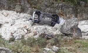 Τραγωδία στο Πήλιο - Αυτοκίνητο έπεσε στο γκρεμό