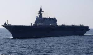 Αγριεύουν τα πράγματα! Η Ιαπωνία στέλνει το μεγαλύτερο πολεμικό πλοίο στην κορεατική χερσόνησο