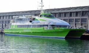 Ένταση στο λιμάνι του Βόλου -  Απεργοί μπλόκαραν το  απόπλου πλοίου