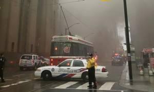 Καναδάς: Σε υπόγειο μετασχηματιστή οφείλονται οι εκρήξεις στο οικονομικό κέντρο του Τορόντο