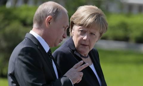 Путин обсудит с Меркель борьбу с терроризмом, Ближний Восток и минские договоренности