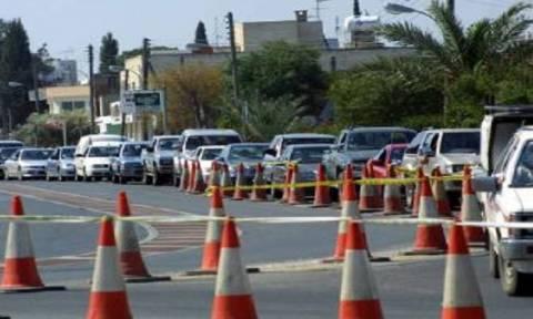 На Кипре в Лефкосии до 7 мая будет перекрыт участок дороги Киприану-Макариу