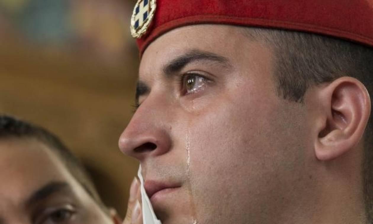 Μην κλαις τσολιά μου…