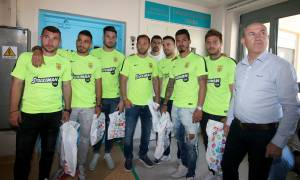 Stoiximan και ΠΑΕ Άρης για καλό σκοπό στο Πανεπιστημιακό Γενικό Νοσοκομείο Θεσσαλονίκης «ΑΧΕΠΑ»