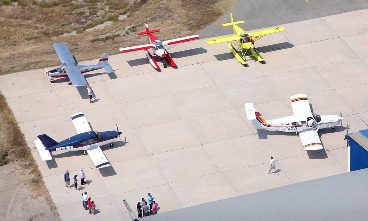 Μάλεμε: Αγώνες Γενικής Αεροπορίας στο ιστορικό αεροδρόμιο