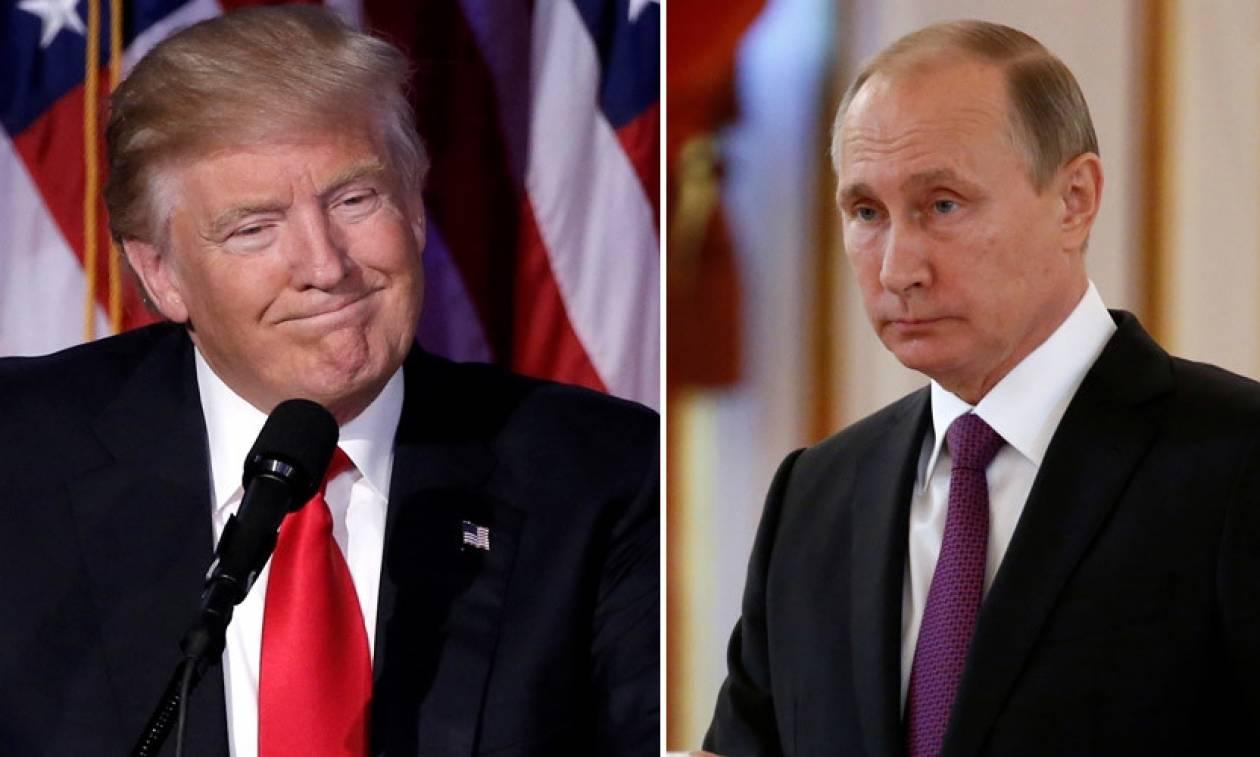Τραμπ και Πούτιν συμφώνησαν να βάλουν τέλος στον πόλεμο της Συρίας