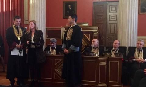 Το Πανεπιστήμιο Αθηνών τίμησε την ελληνική φαρμακοβιομηχανία
