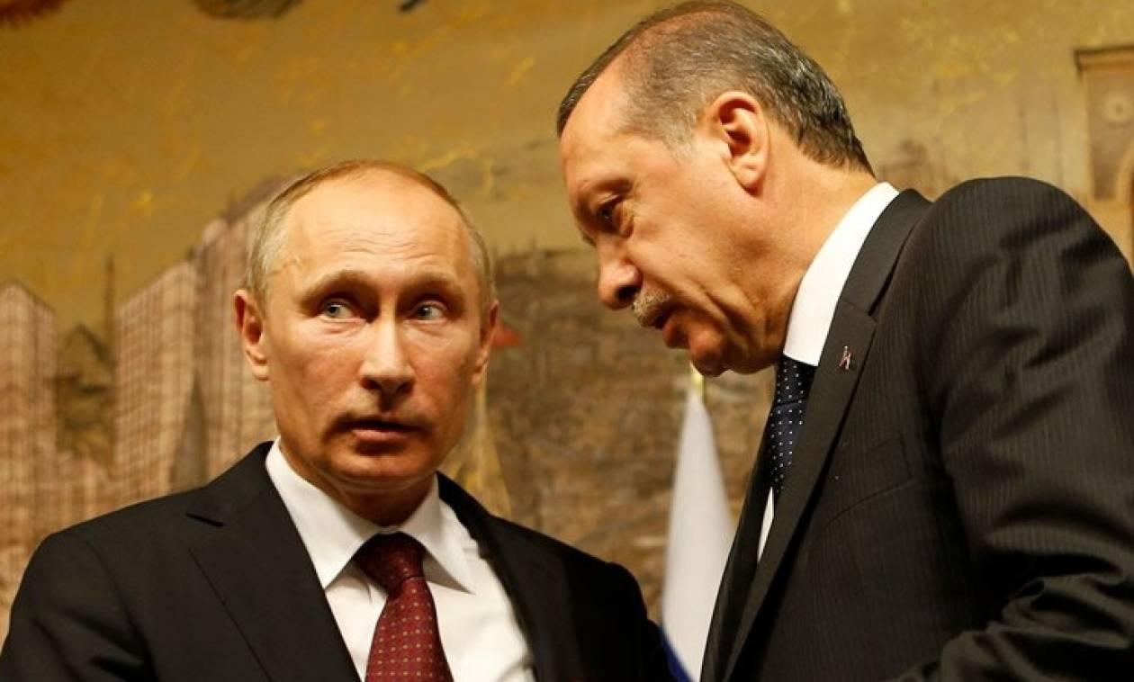 Συνάντηση Πούτιν - Ερντογάν στο Σότσι: Στο «τραπέζι» συριακό και τρομοκρατία