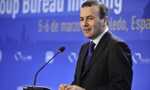 «Καρφιά» Βέμπερ προς Τσίπρα: Το πρόβλημα με την Ελλάδα είναι ότι έχει κομμουνιστή πρωθυπουργό