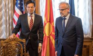 Σκόπια: Υπό την «σκιά» του εμφυλίου ανέλαβε τα καθήκοντα του ο νεοεκλεγείς Αλβανός πρόεδρος