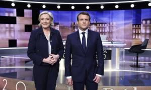 Εκλογές Γαλλία 2017: Με σκληρές κουβέντες και προσωπικές επιθέσεις το ντιμπέιτ Λεπέν-Μακρον (vid)