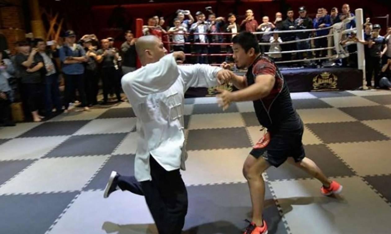 Απίστευτο ξύλο: Αθλητής ΜΜΑ σακάτεψε δάσκαλο Τάι Τσι (vid)