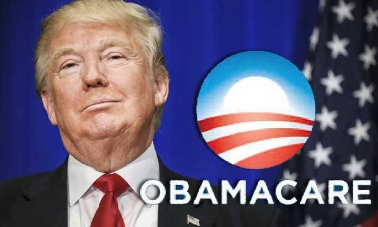 O Τραμπ τελειώνει το Obamacare: Πέρασε το ψήφισμα υπέρ της κατάργησής του