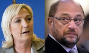 Επίθεση Σουλτς στη Λεπέν για τον «κυνισμό» και τις «αντι-γερμανικές» δηλώσεις της