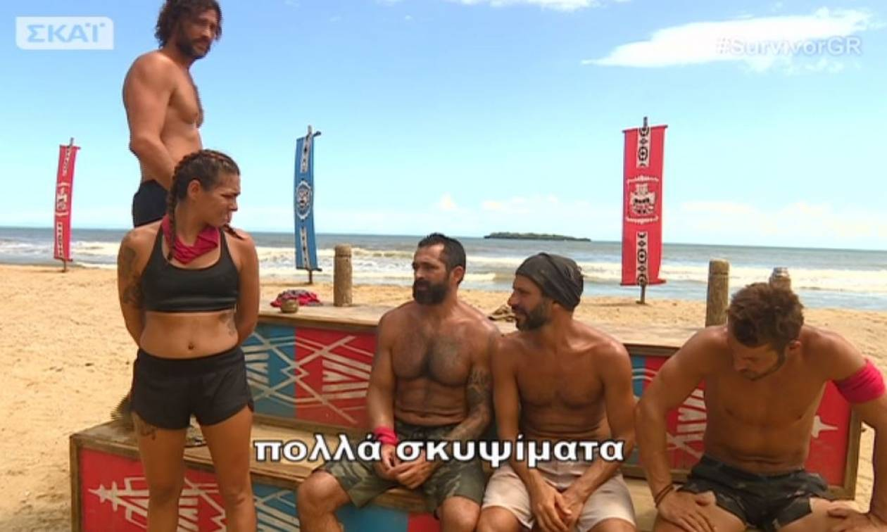 Survivor: Ο Γιώργος Αγγελόπουλος «δολοφόνησε» τη Βαλαβάνη - Η ατάκα του που δεν άκουσε κάνεις! (vid)