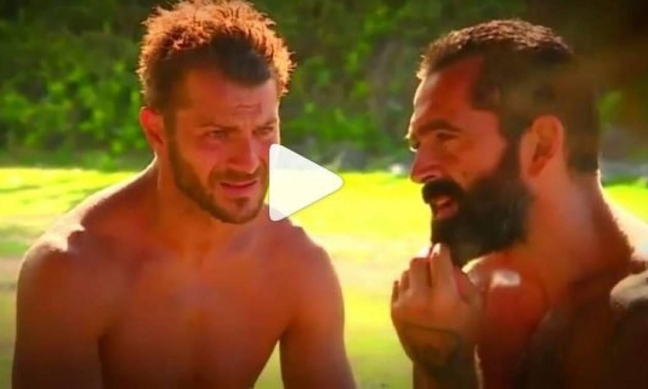 Survivor: Απασφάλισε ο Ντάνος κατά του Σπαλιάρα: «Αν δεν ζητήσει συγγνώμη...» (video)