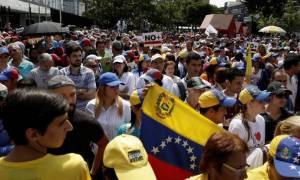Βενεζουέλα: Αποφασισμένη να συνεχίσει τις κινητοποιήσεις η αντιπολίτευση