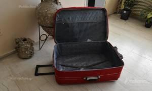 Χίος: Μετανάστης κρύφτηκε σε… βαλίτσα για να ταξιδέψει στον Πειραιά (vid)