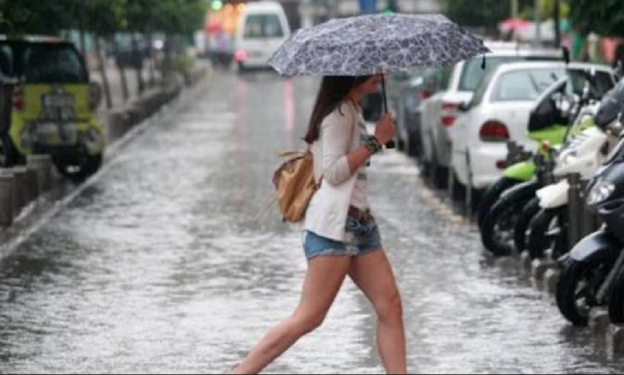 Αλλάζει ο καιρός: Βροχές και καταιγίδες την Κυριακή - Αναλυτική πρόγνωση