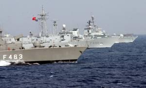 Παιχνίδια πολέμου: Όλος ο τουρκικός στόλος στο Αιγαίο