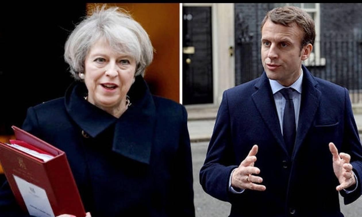 Εκλογές Γαλλία 2017: To Brexit στο επίκεντρο της συζήτησης Μακρόν - Μέι