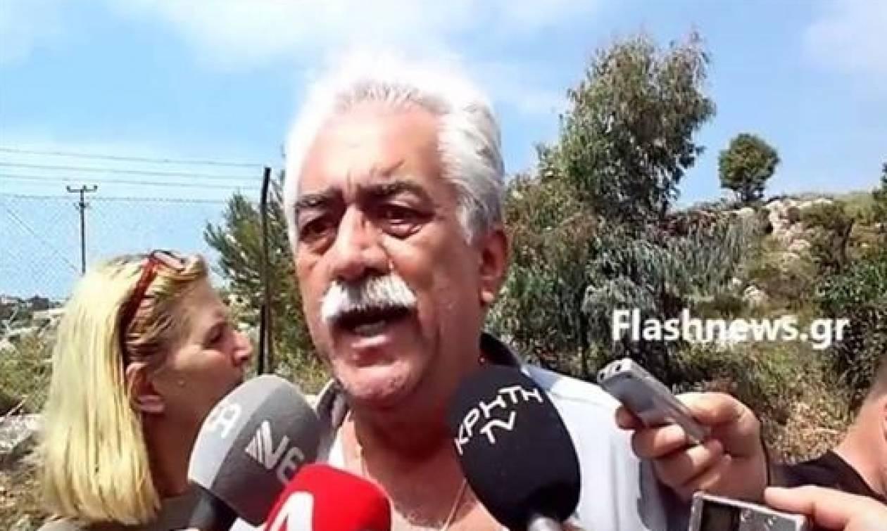 Χανιά: Συγκλονίζει ο πατέρας του οπλισμένου περιπτερά (video)
