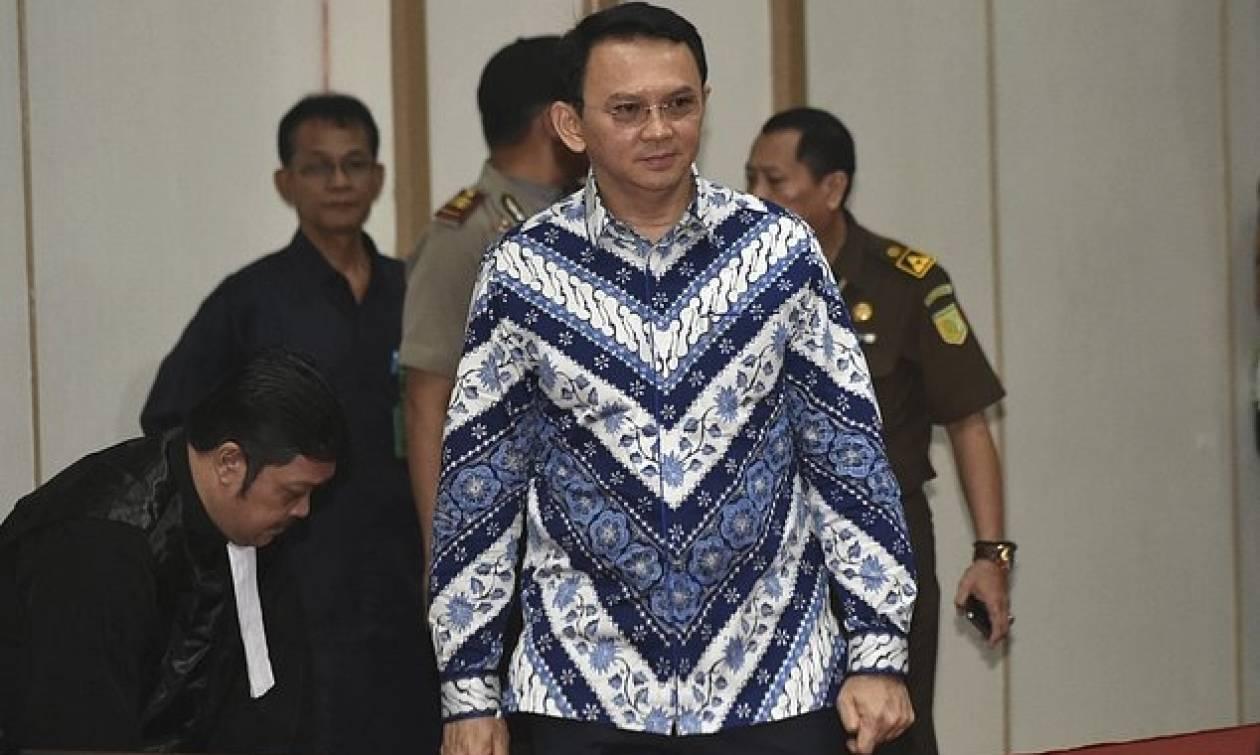 Σάλος στην Ινδονησία: Στη φυλακή ο χριστιανός κυβερνήτης της Τζακάρτα για βλασφημία κατά του Ισλάμ