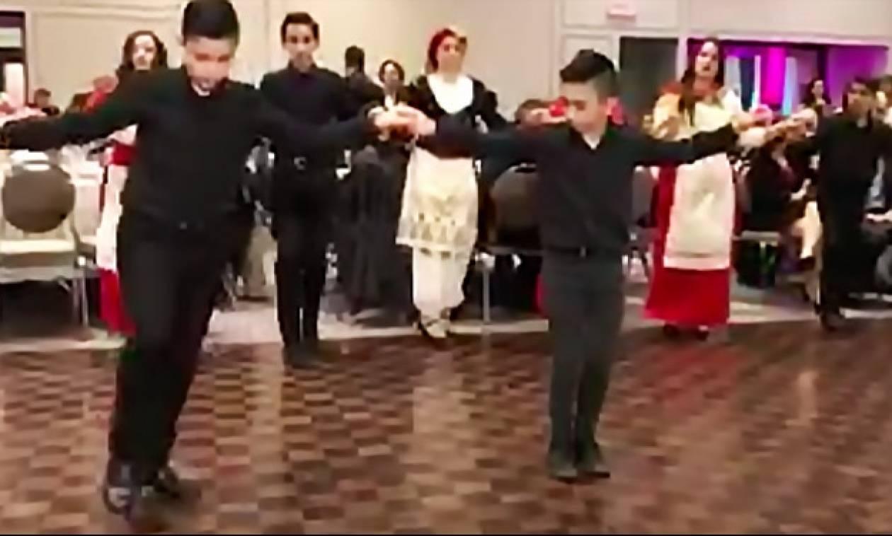 Ελληνόπουλα τρίτης γενιάς χορεύουν Κρητικά στον μακρινό Καναδά! (video)