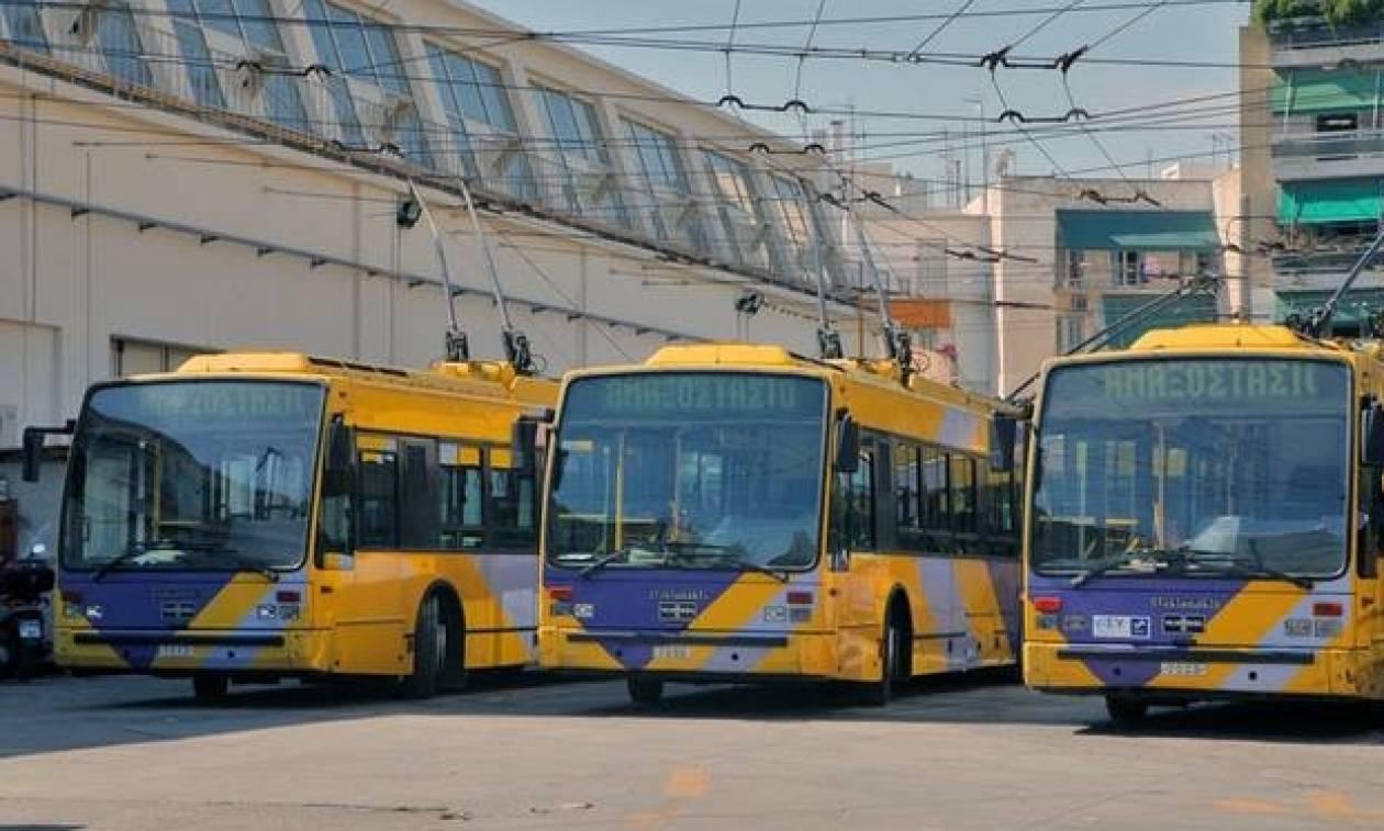 Απεργία στα Μέσα Μαζικής Μεταφοράς: Χωρίς τρόλεϊ η Αθήνα για πέντε ώρες