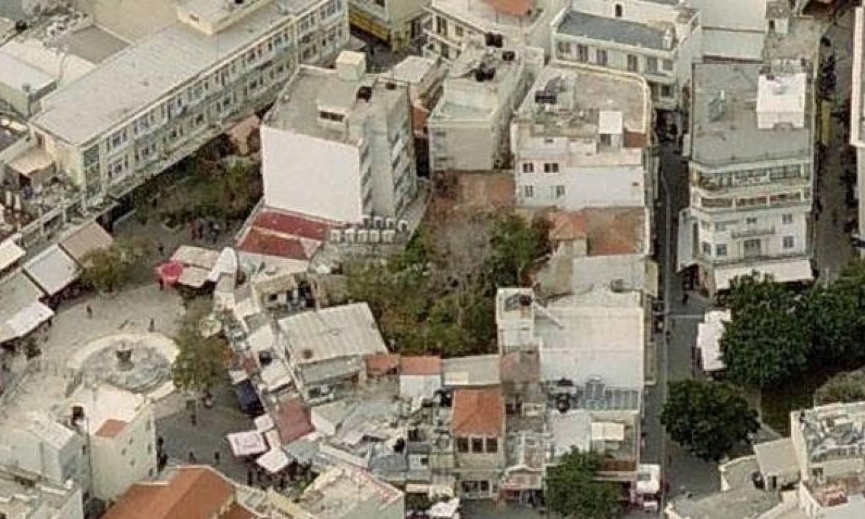 Κατέρρευσε τμήμα του Δουκικού Ανακτόρου στο κέντρο του Ηρακλείου
