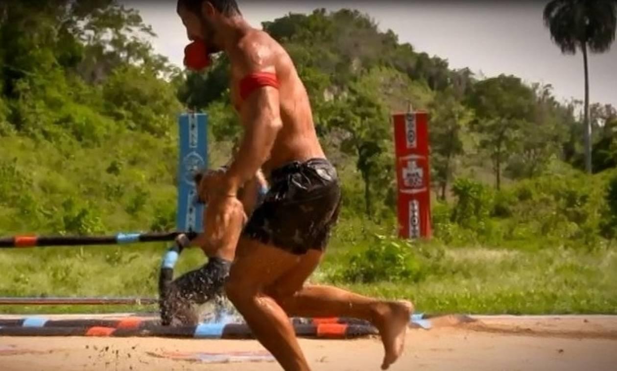 Survivor: Διέρρευσαν πλάνα από το σημερινό παιχνίδι - Τραυματισμός - σοκ! (video)