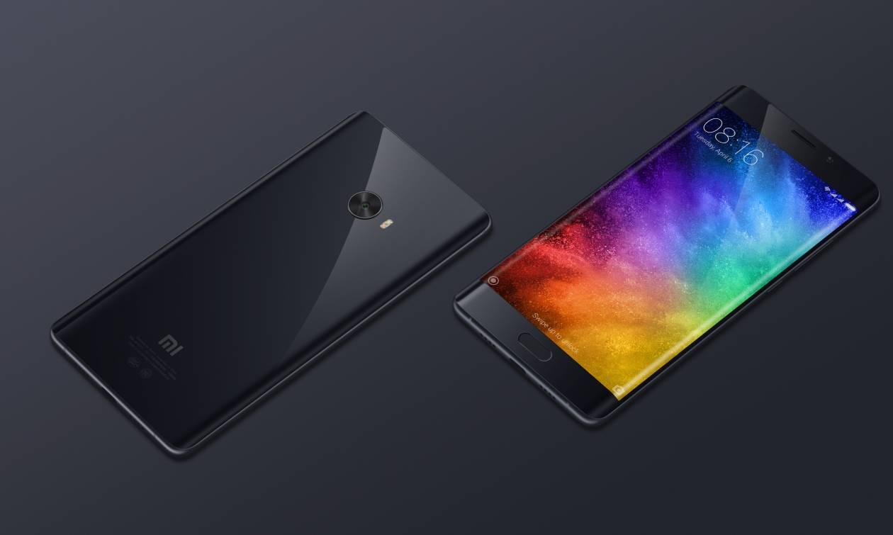 Στην ελληνική αγορά το εντυπωσιακό Xiaomi Mi Note 2