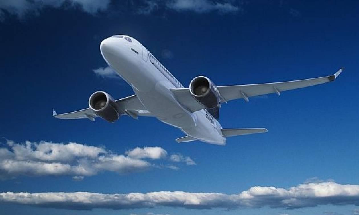 Θρίλερ με αεροσκάφος πάνω από τη Ρόδο!